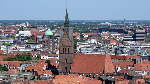 Hanover - the administrative center of Lower Saxony in the Federal Republic of Germany.