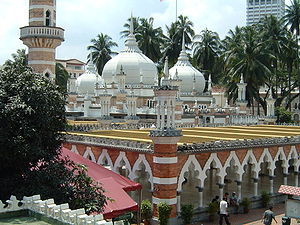 Mosque Jamek, Kuala Lumpur