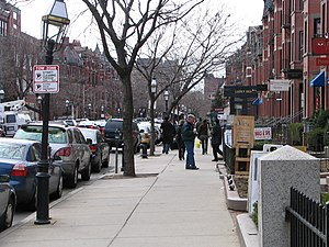 English: Newbury Street, Boston