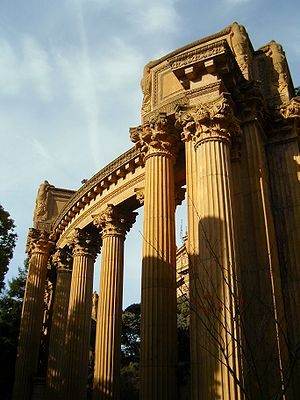 Palace of Fine Arts Walkways, San Francisco, C...