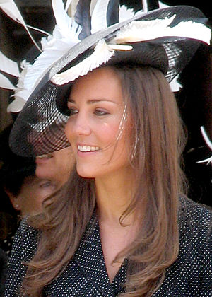 English: Kate Middleton at the Garter Processi...