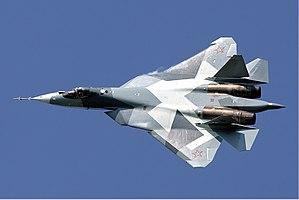 English: Sukhoi T-50, b/n 51.