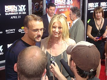 English: Tim McGraw and Faith Hill at the 2009...