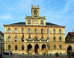 City hall of Weimar