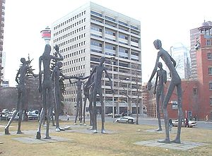 Calgary Board of Education Statue