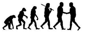 English: Conflict Resolution in Human Evolution