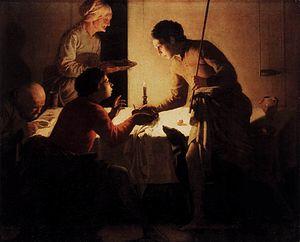 Hendrick ter Brugghen - Esau Selling His Birth...