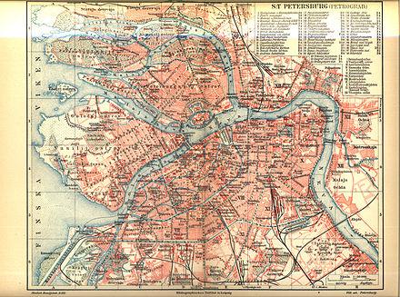San Petersburgo, capital del Imperio ruso en aquella época y cuna de las tres revoluciones.