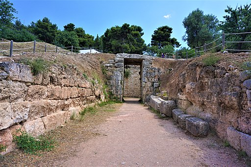 Lion Tholos Tomb at Mycenae by Joy of Museums - 2