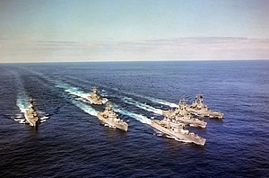 Nuclear Warships formation