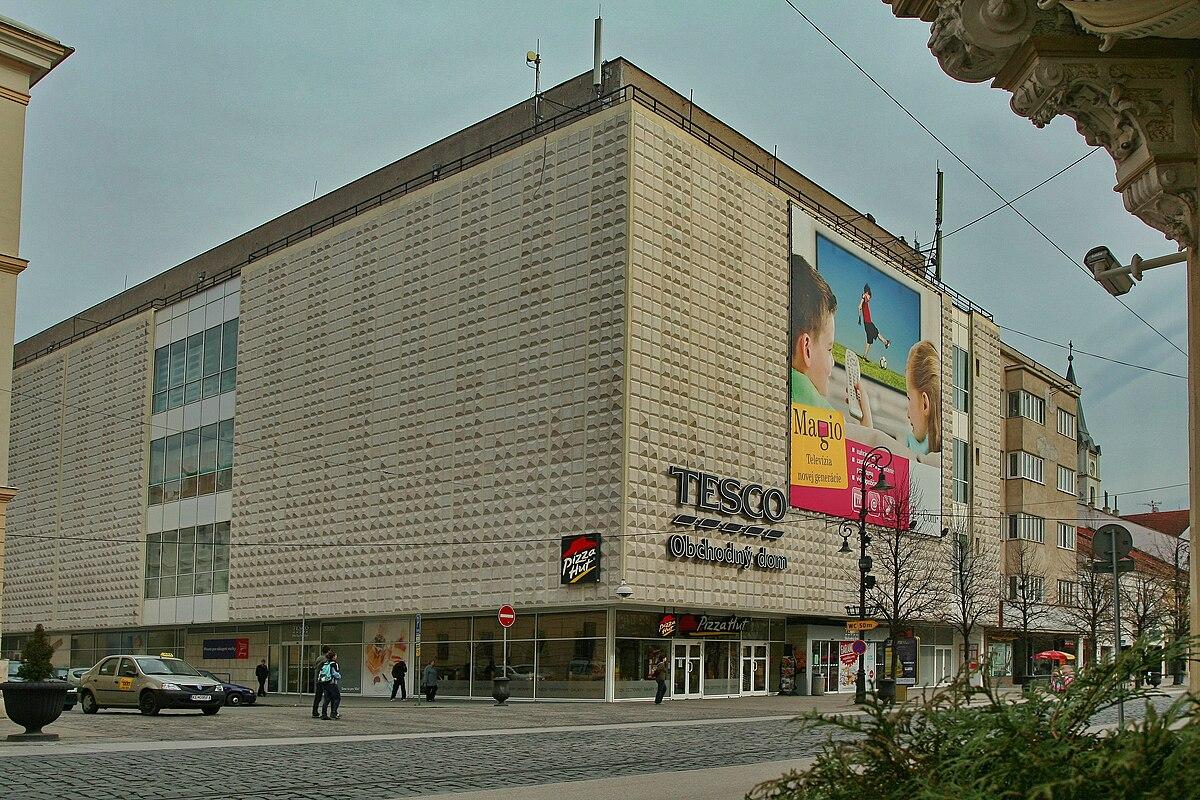 Obchodn Dom Tesco Koice Wikipdia