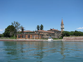 Poveglia Closeup of Hospital