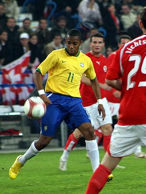 Robinho, St. Jakob Stadion, Basel (Switzerland...