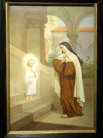 File:Saint-Denis (93), musée d'art et d'histoire, tableau - Sainte Thérèse d'Avila ou de l'Incarnation 1.jpg