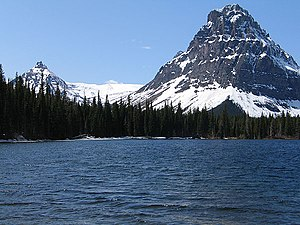 Two Medicine Lake in Glacier National Park (US)