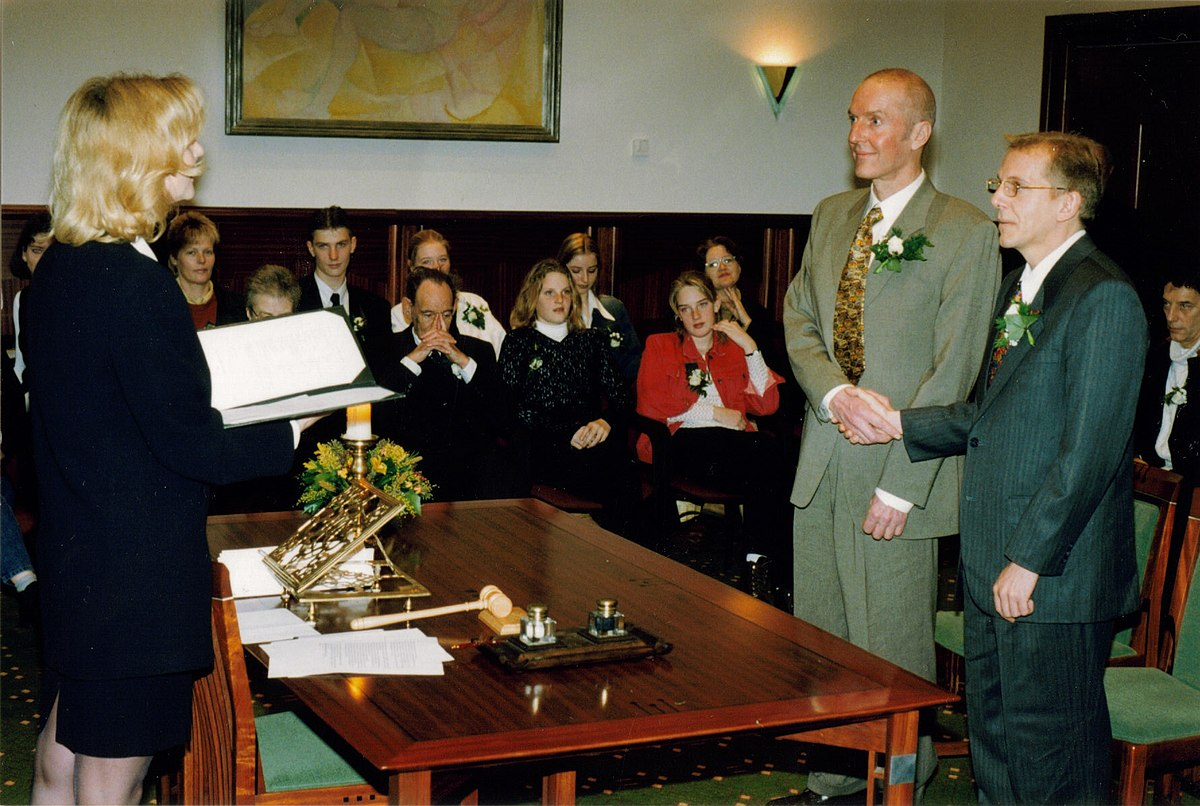Samesex Marriage In The Netherlands  Wikipedia