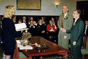 Photo of Jeffpw wedding ceremony in the Nether...