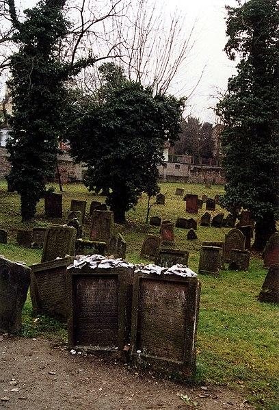Archivo :2006-Judenfriedhof gusanos 1.jpg