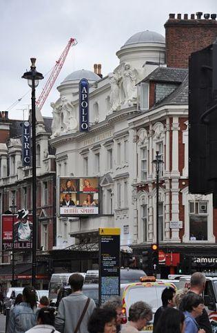 London, Apollo Theatre, showing Noel Coward's ...