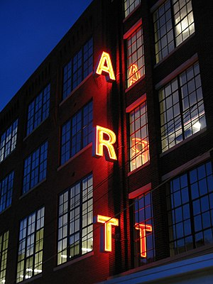 English: The Art Academy of Cincinnati, locate...