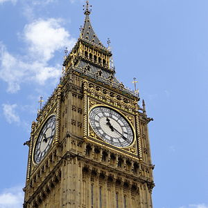 English: Big Ben Clock
