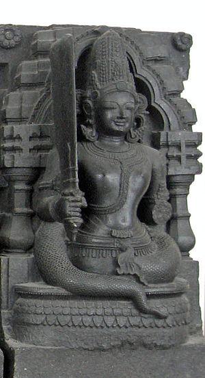 Photo of Ketu taken at the British Museum