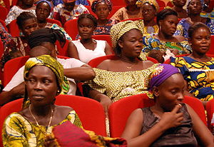 Women in Cotonou, Benin