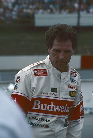 NASCAR champion Darrell Waltrip in the mid 198...