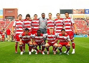 Teamphoto FC Dallas (vs. Colorado Rapids 2007)