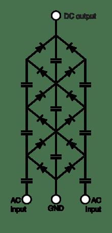 200 kV multiplier