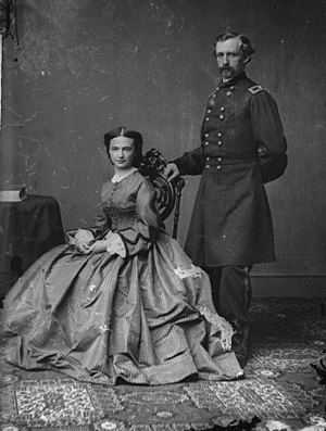 George Armstrong Custer and Elizabeth Bacon Cu...