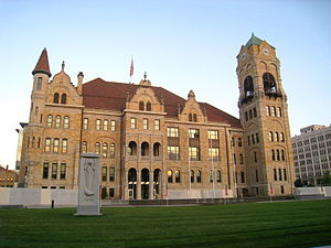Lackawanna County Courthouse, Scranton, Pennsy...