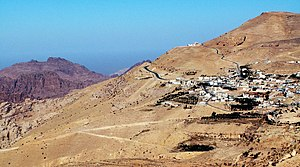 Mount Hor where it is believed that Aaron brot...