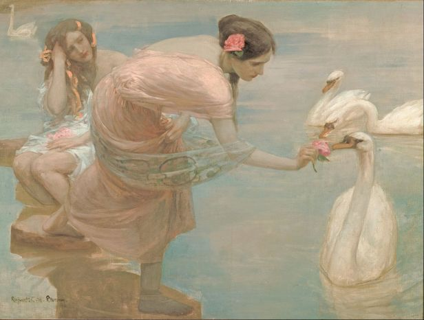 Rupert Bunny - A summer morning - Google Art Project