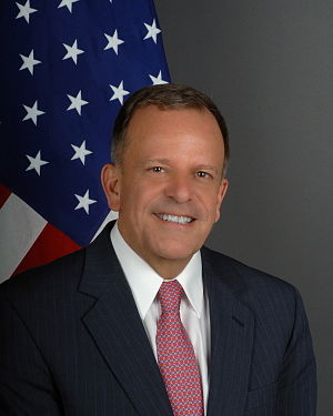 Thomas Dougherty, U.S. diplomat. As of 2010, U...