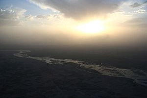 A view of Sangin Valley in Helmand province - ...