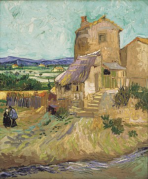 The Old Mill (1888), Albright-Knox Art Gallery