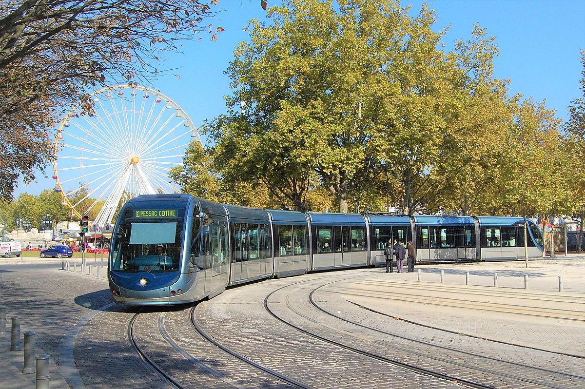 Ligne B du tramway de Bordeaux  Wikipdia