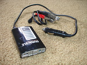 Xantrex 175 watt DC-to-AC power inverter rebad...