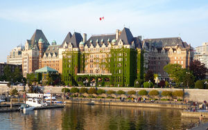 Ogden Point , Victoria Canada:  2014 Cruise Passengers - Boat Shuttle  to Inner Harbour