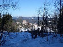 Blick auf Altenau vom Grabenhaus Rose