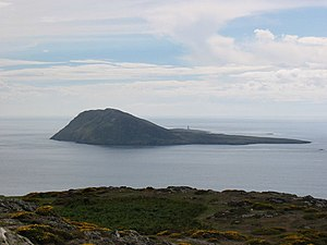 Bardsey Island Taken from Braich y Pwll - at t...