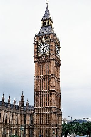 English: St. Stephen's Tower (Big Ben) in Lond...