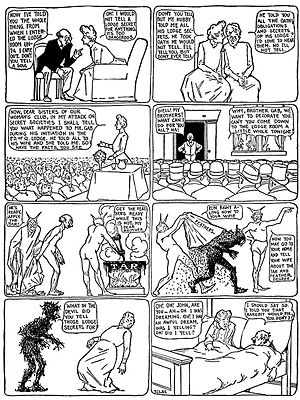 Winsor McCay's Dream of the Rarebit Fiend