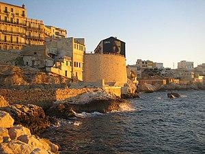 Corniche de Marseille, France.