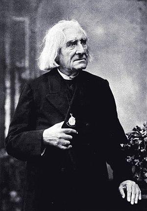 Franz Liszt, prominent Hungarian composer