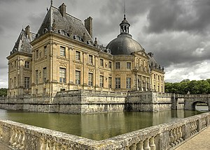 Vaux le vicomte castel, Maincy, France
