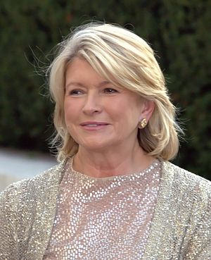 Martha Stewart at the 2009 premiere of the Met...