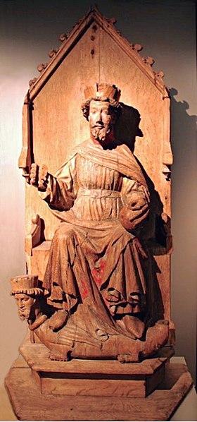 Fil:Olav fra Austevold kirke.jpg