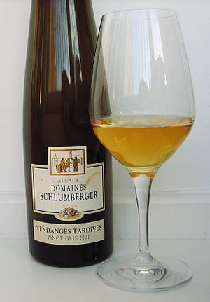 English: Domaines Schlumberger Pinot Gris Vend...
